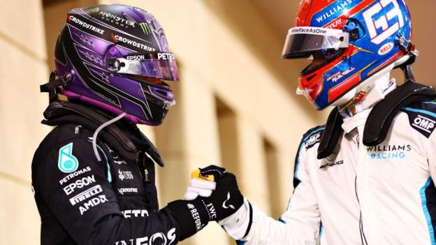 Dutch Grand Prix: Lewis Hamilton calls George Russell 'an incredibly talented driver'