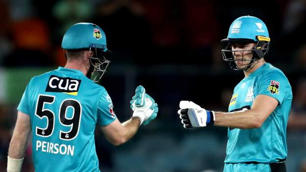 Big Bash League 2021 : Knockout Brisbane Heat beat Sydney Thunder 'one win away from Final