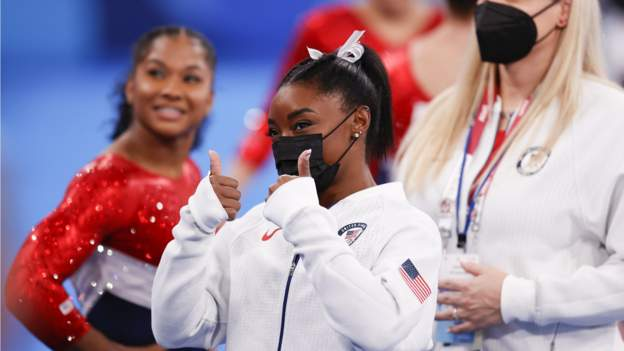 Tokyo Olympics: Simone Biles reacts to support for withdrawal from team and all-around finals