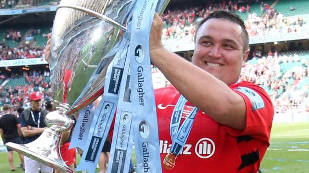 Jamie George: England hooker signs new Saracens contract