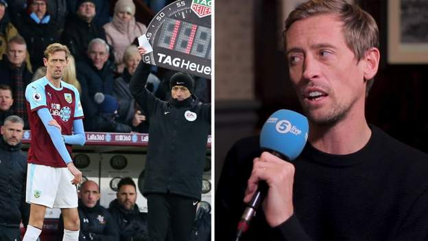 Peter Crouch says he retired from football because he