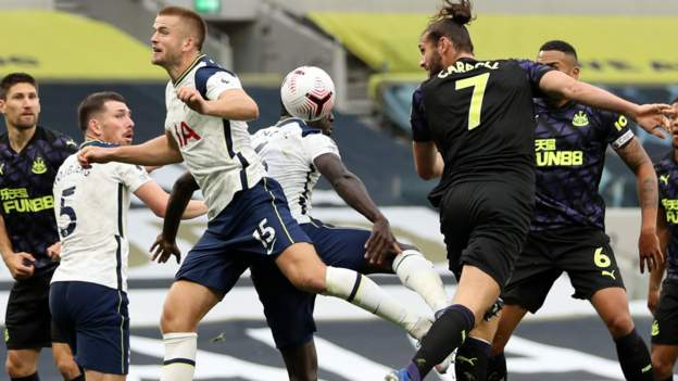 Tottenham 1-1 Newcastle: We have lost the plot with handball, says Steve Bruce - bbc