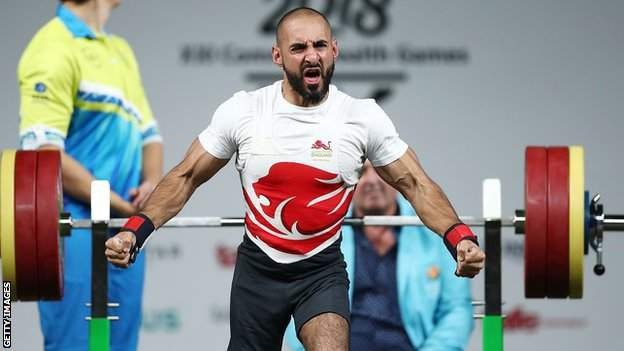 Powerlifter Ali Jawad