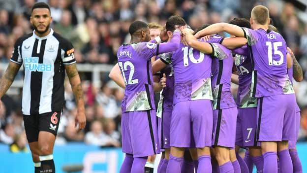 Newcastle 2-3 Tottenham: New era at St James' Park begins with loss