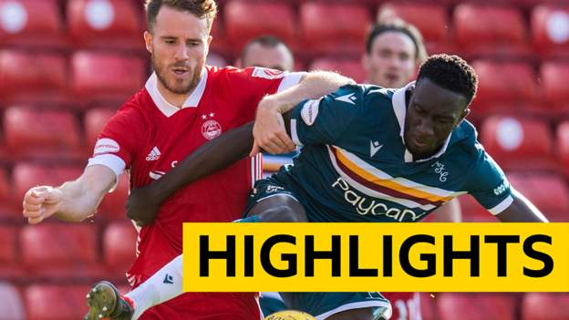 Highlights: Aberdeen 0-3 Motherwell - bbc