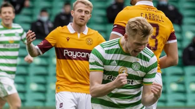 Celtic 2-1 Motherwell: Laba-untuk-servis menang untuk sisi Neil Lennon thumbnail