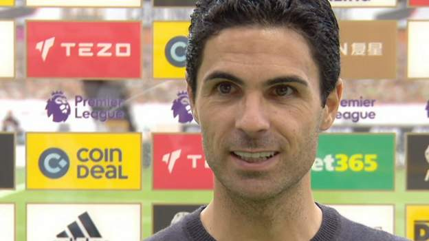 Wolves 0-2 Arsenal: Mikel Arteta delighted with 'huge' Arsenal win thumbnail
