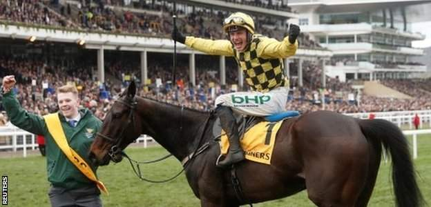 Al Boum Photo won the Gold Cup for trainer Willie Mullins