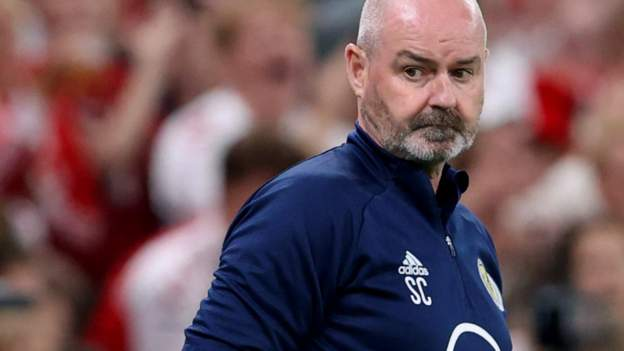 Denmark 2-0 Scotland: Host 'blew us away' with intensity, says Steve Clarke