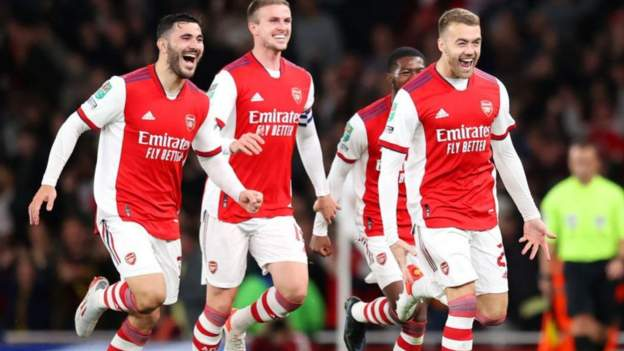 Arsenal 2-0 Leeds United: Calum Chambers scores 23 seconds after coming on