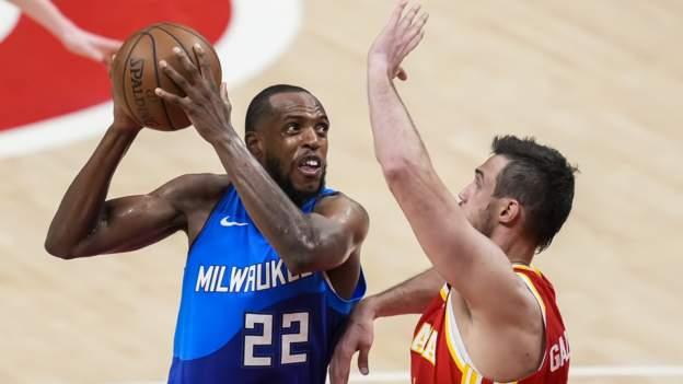 NBA play-off'ları: Milwaukee Bucks, Doğu'da 2-1 seri liderliği almak için Atalanta Hawks'ı yendi