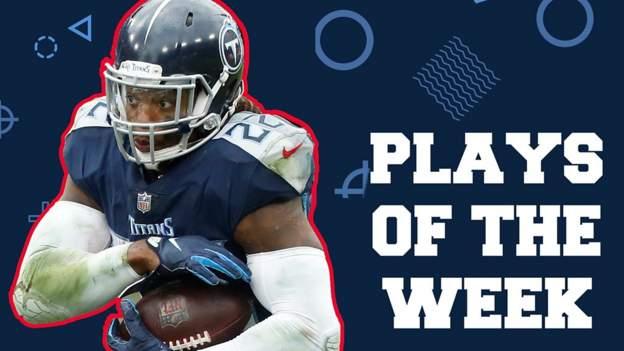 NFL plays of week six: Derrick Henry, Rob Gronkowski & Lamar Jackson feature