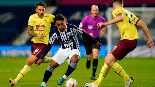 West Brom & Burnley play out Premier League season's first 0-0