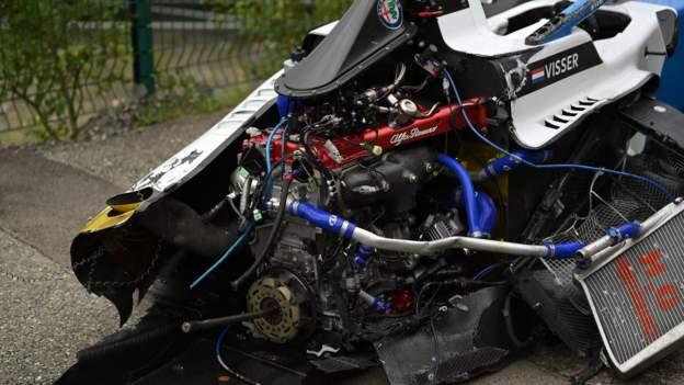 W Series Belgium crash: Beitske Visser & Ayla Agren in hospital