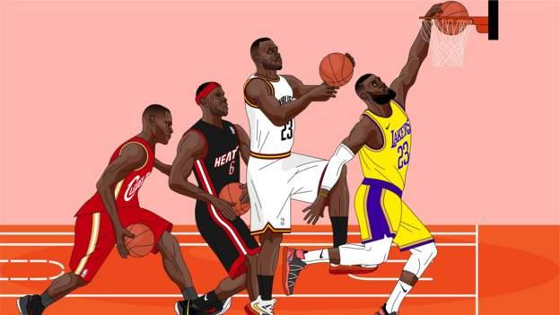 LeBron James' changing shape of NBA greatness