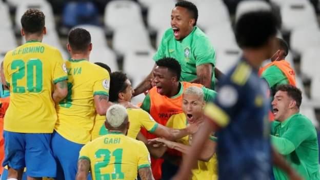 Casemiro gives Brazil controversial win
