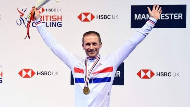 Olympic champion Jason Kenny