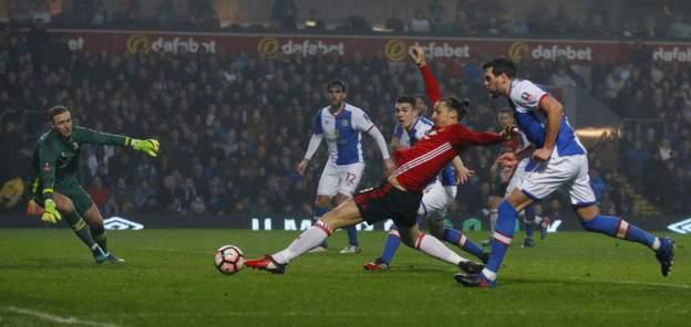 Zlatan Ibrahimovic misses