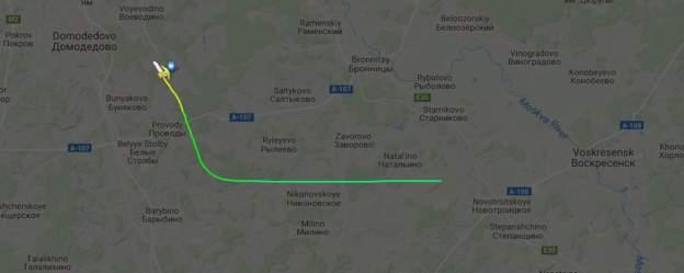 Пассажирский самолет разбился в Подмосковье: На борту 71 человек