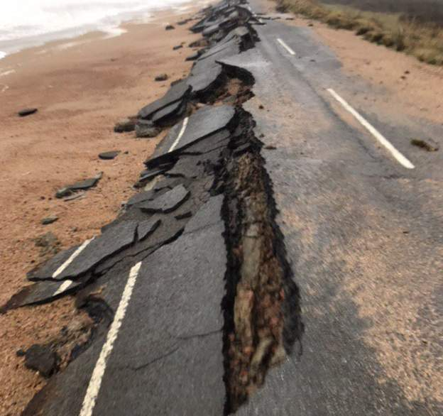 Slapton Line collapse
