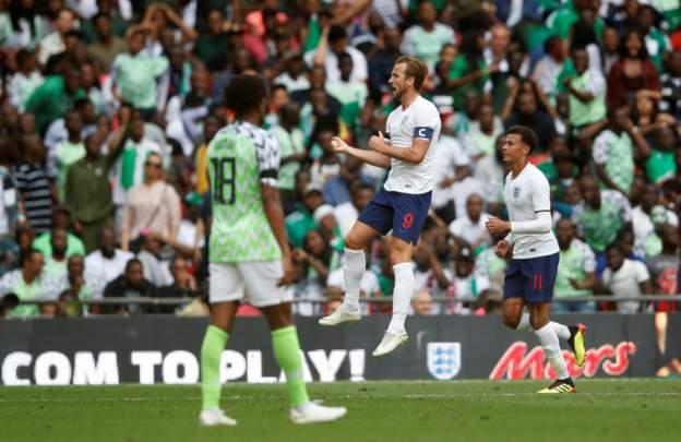 กัปตันเคนซัลโว! อังกฤษ อุ่นแข้งเชือดไนจีเรีย 2-1