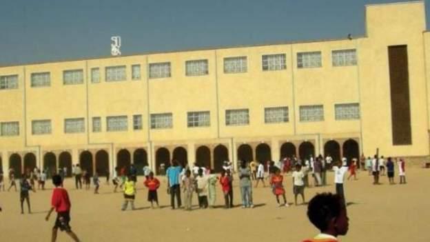 St Joseph's School in Keren, Eritrea