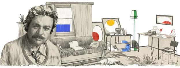 Google'dan Oğuz Atay'a doodle