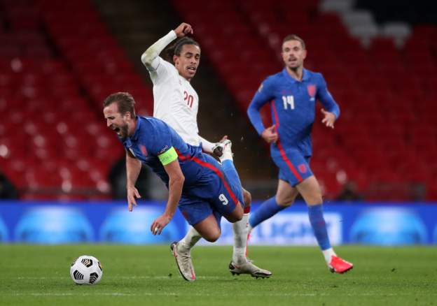 ไฮไลท์ฟุตบอล เนชั่นลีกส์ อังกฤษ - เดนมาร์ก