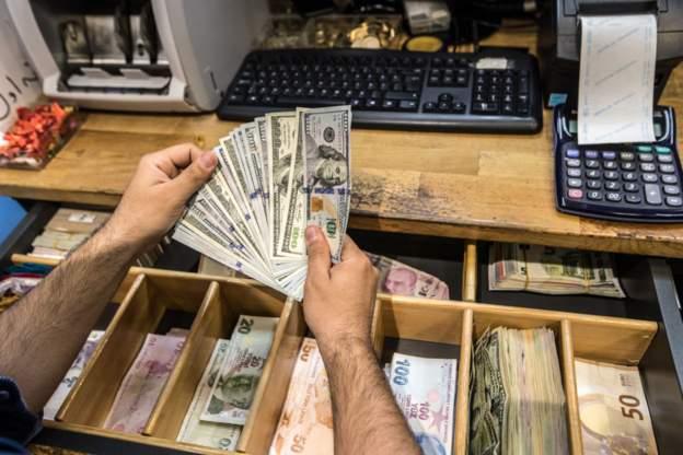 Dolar/TL kuru 8'e yaklaştı