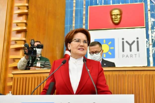 Meral Akşener, partisinin meclis grup toplantısında konuştu.