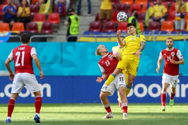 ไฮไลท์ฟุตบอล ยูโร 2021 ยูเครน - ออสเตรีย