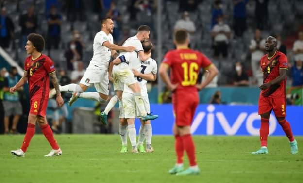 ไฮไลท์ดูบอลรวยxยูโร2020 เบลเยี่ยม 1-2 อิตาลี