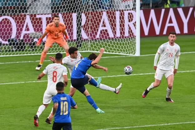 ไฮไลท์ดูบอลรวยxยูโร2020 อิตาลี 1-1 สเปน (4-2 PEN)