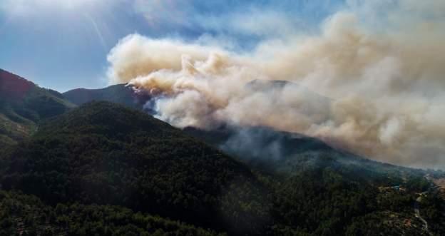 Manavgat'ta yangın 6. gününde