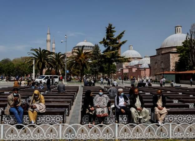 Yılın ilk 8 ayında Türkiye'ye 14 milyon yabancı ziyaretçi geldi