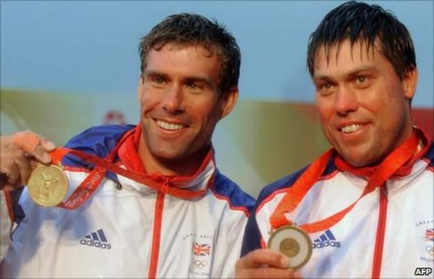 Iain Percy and Andrew Simpson