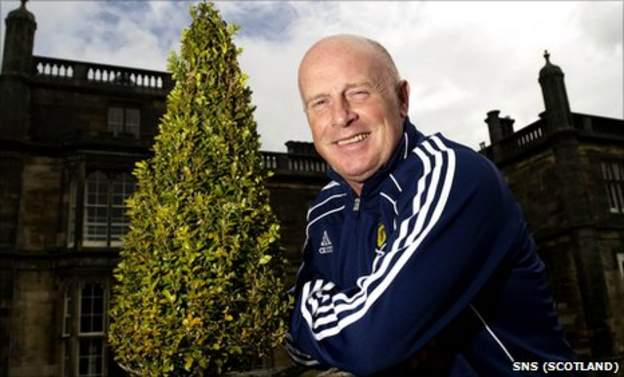 Scotland assistant manager Peter Houston