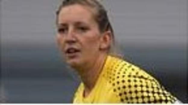 Goalkeeper Siobhan Chamberlain