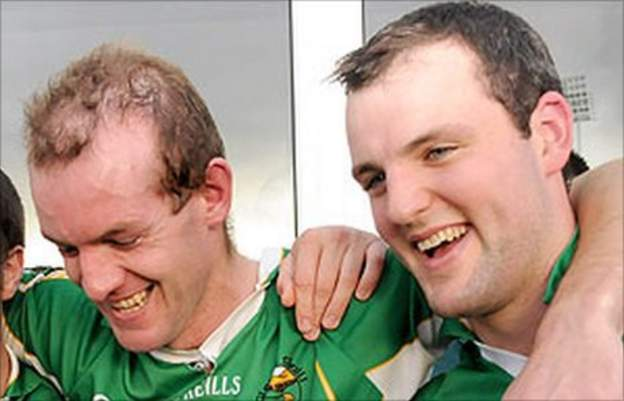 Neil Gallagher (left) and Michael Murphy (right)
