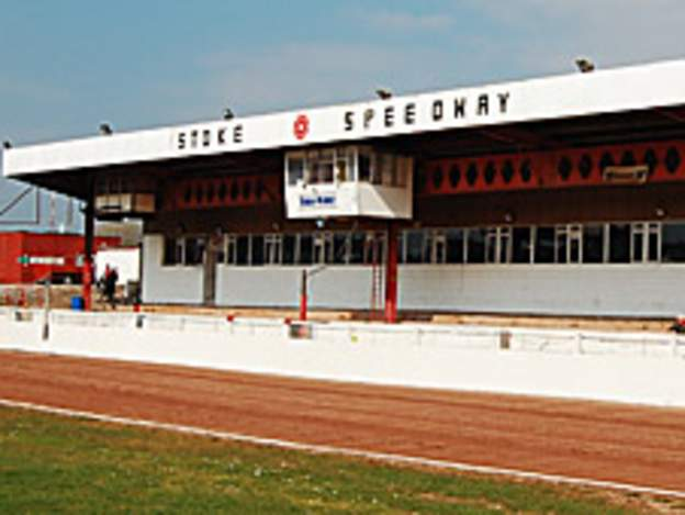 Stoke Potters' Loomer Road stadium