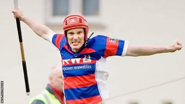 Ronald Ross scored twice for Kingussie against Lovat