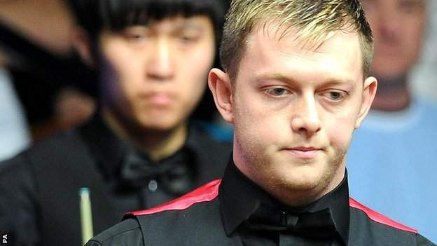 Mark Allen (right) beat Mark Selby in the final in Belgium