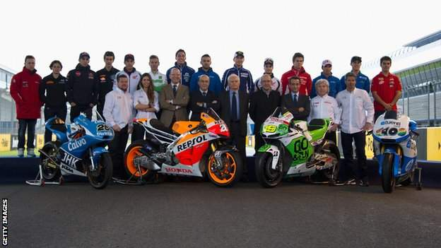 MotoGP riders of 2013