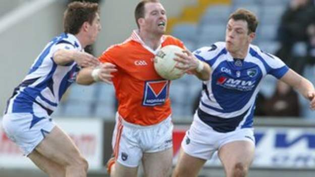 Armagh captain Ciaran McKeever is banned for Sunday's vital league game with Galway