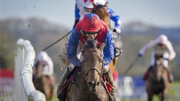 Ruby Walsh rides Quevega to victory at Punchestown