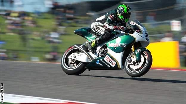 Michael Laverty on PBM bike