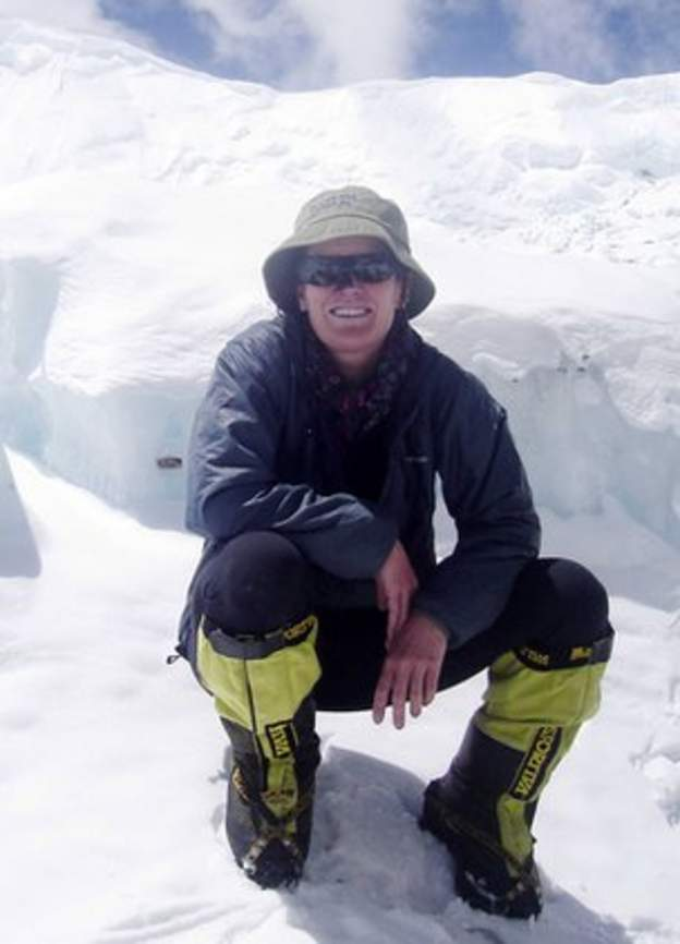 Hannah Shields from Londonderry climbed to the top of Mount Everest in 2007