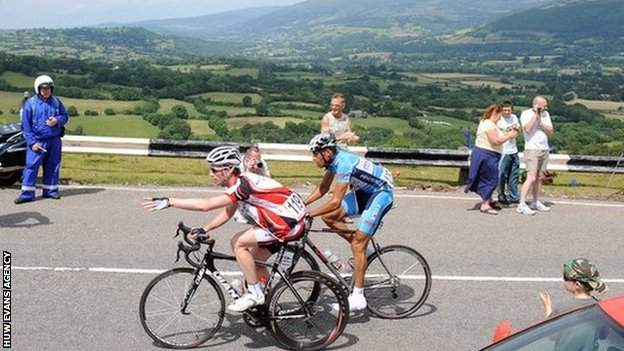 The National Road Race Championships were last held in Monmouthshire in 2009
