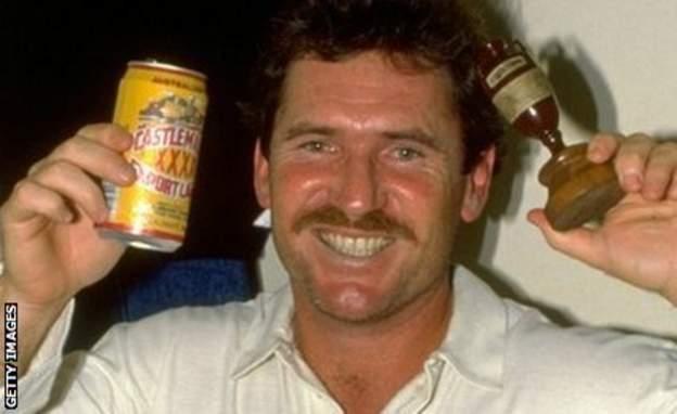 Australian legend Allan Border