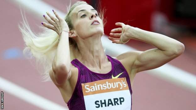 Lynsey Sharp is only the second Scottish woman to run under two minutes for 800m